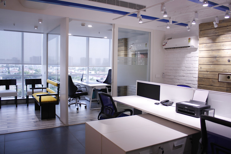 offices Modern office buildings by stonehenge designs Modern