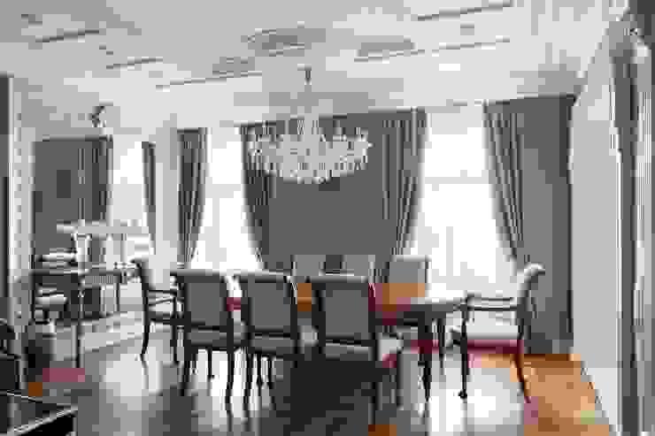 Студия дизайна интерьера в Москве 'Юдин и Новиков' Living room