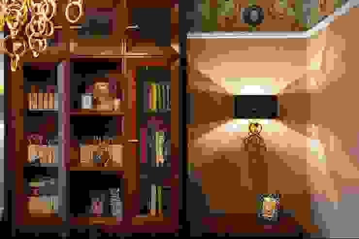 Oficinas y bibliotecas de estilo clásico de Студия дизайна интерьера в Москве 'Юдин и Новиков' Clásico
