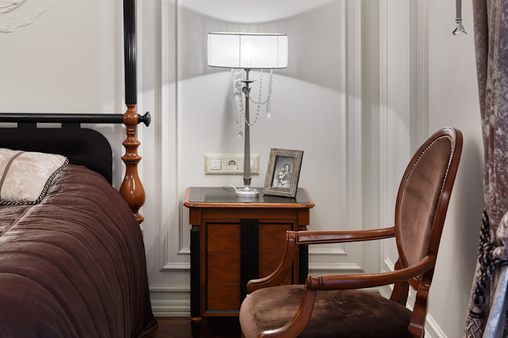 Студия дизайна интерьера в Москве 'Юдин и Новиков' Classic style bedroom