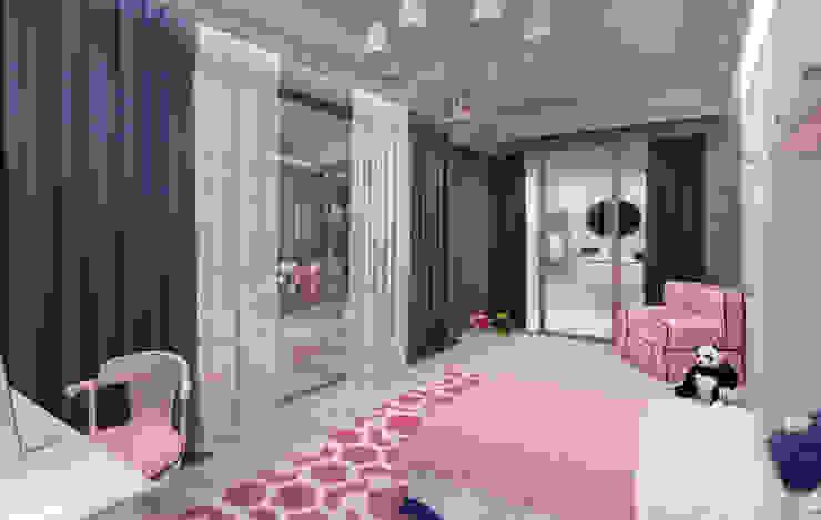 Bedroom by Студия дизайна интерьера в Москве 'Юдин и Новиков'