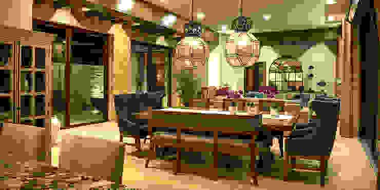 Mediterranean style living room by INTERPRIKA Mediterranean