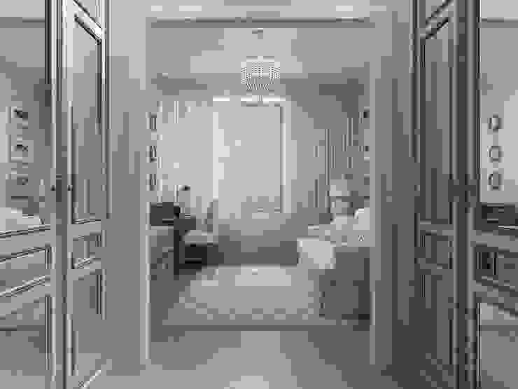 Couloir et hall d'entrée de style  par Студия дизайна интерьера в Москве 'Юдин и Новиков', Moderne