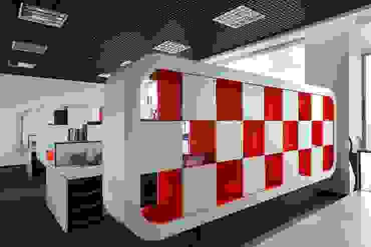 Студия дизайна интерьера в Москве 'Юдин и Новиков' Ruang Studi/Kantor Modern
