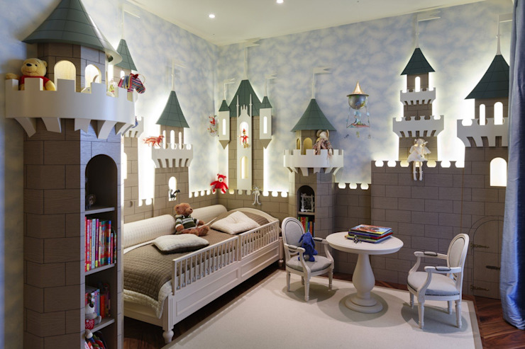 Moderne Kinderzimmer von Студия дизайна интерьера в Москве 'Юдин и Новиков' Modern