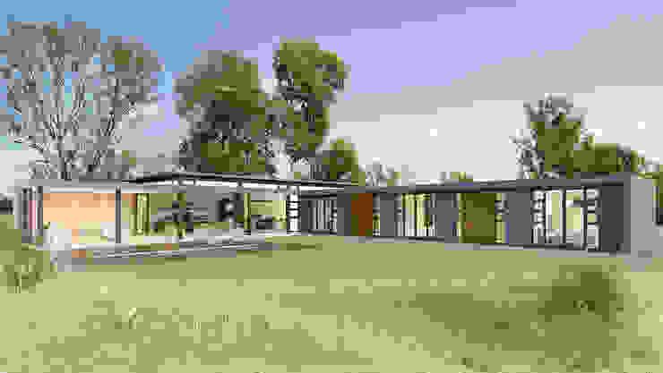 Rumah Modern Oleh REIS Modern