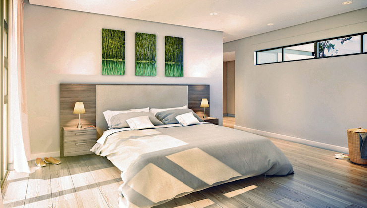 Modern style bedroom by REIS Modern