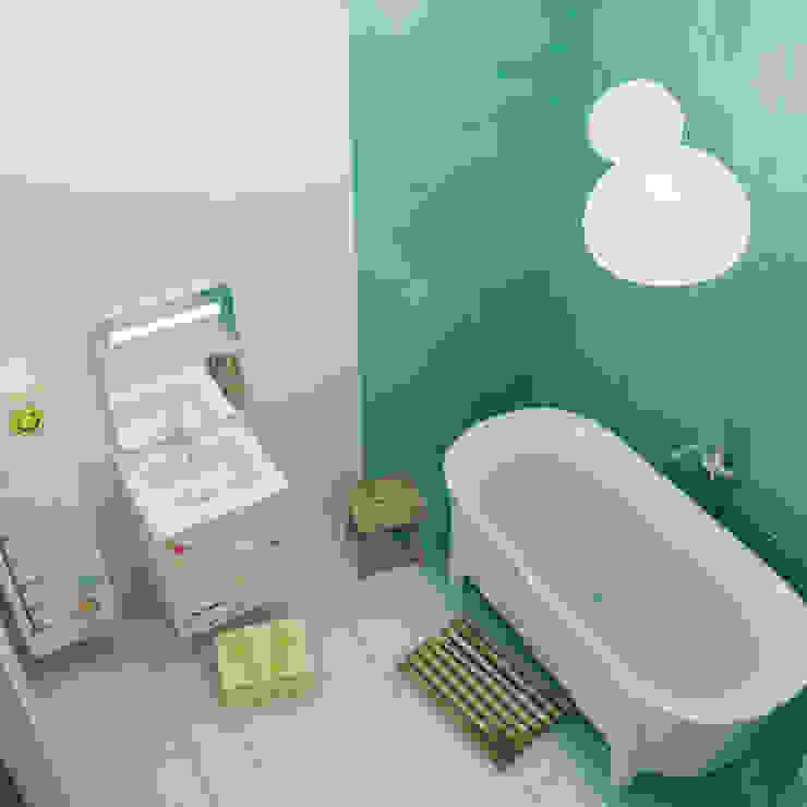 Minimalist bathroom by ДОМ СОЛНЦА Minimalist