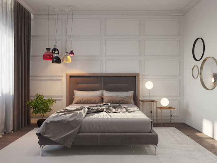 Classic style bedroom by ДОМ СОЛНЦА Classic
