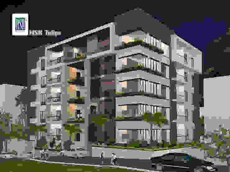 HSR Tulips Modern houses by HSR Venutures Modern