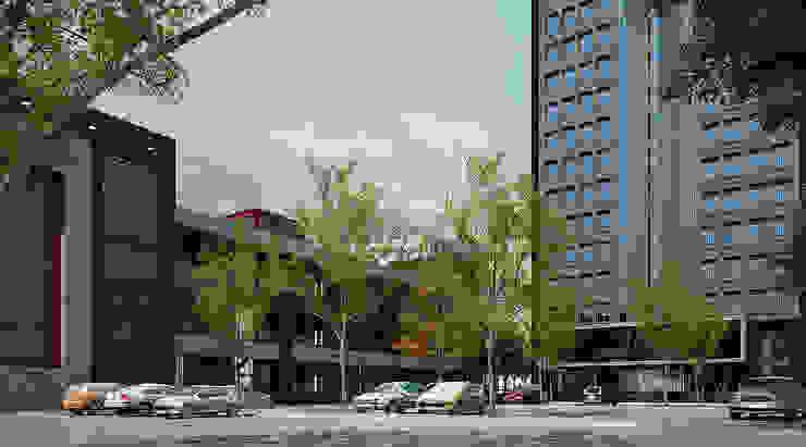 Renovate : Facade Tasniya Building โดย Dsire9 Studio