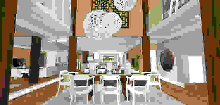 Mediterranean style dining room by Kirsty Badenhorst Interiors Mediterranean