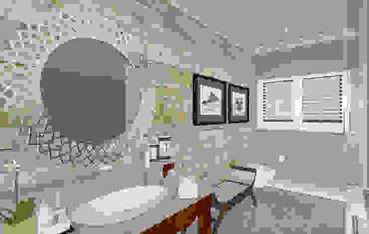HOUSE M Mediterranean style bathrooms by Kirsty Badenhorst Interiors Mediterranean