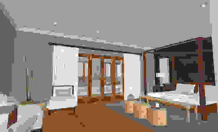 Mediterranean style bedroom by Kirsty Badenhorst Interiors Mediterranean