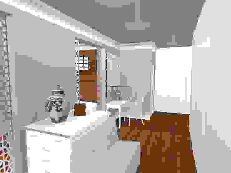HOUSE M Mediterranean style dressing room by Kirsty Badenhorst Interiors Mediterranean
