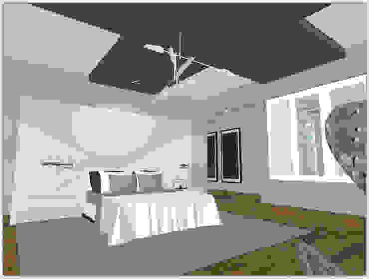 House N Modern style bedroom by Kirsty Badenhorst Interiors Modern