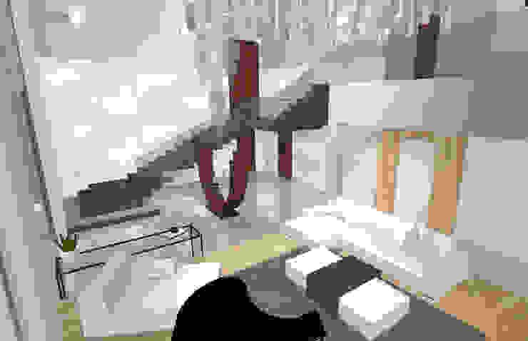 House N Modern Corridor, Hallway and Staircase by Kirsty Badenhorst Interiors Modern