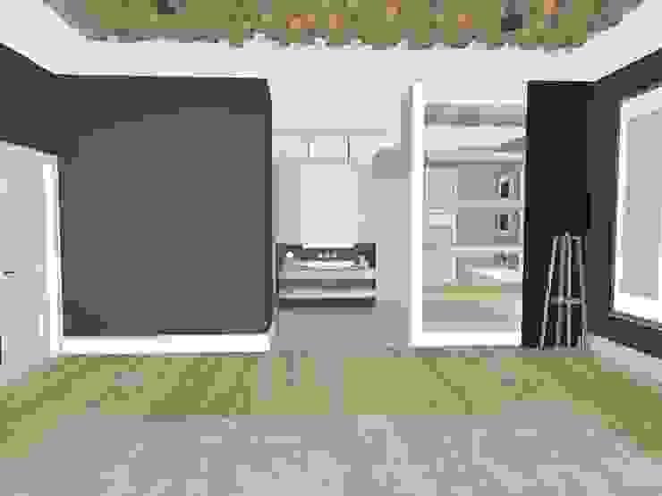 House N:  Bedroom by Kirsty Badenhorst Interiors, Modern