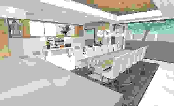 House N Modern dining room by Kirsty Badenhorst Interiors Modern
