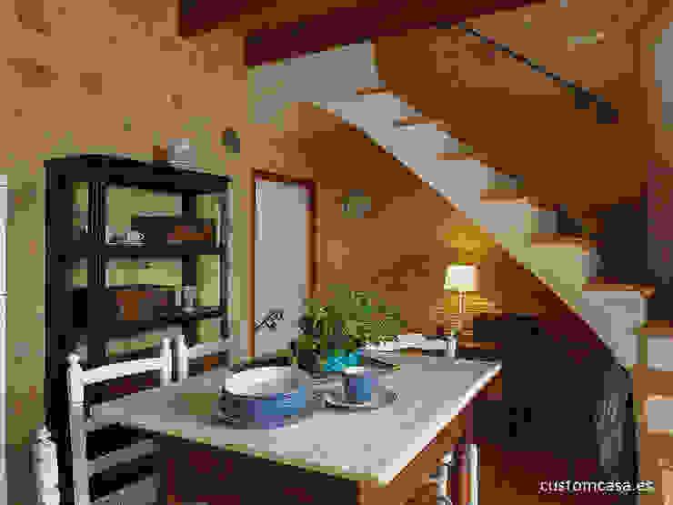 custom casa home staging Dining room