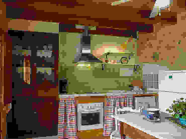 custom casa home staging Kitchen