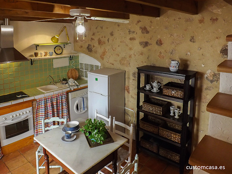 مطبخ تنفيذ custom casa home staging,