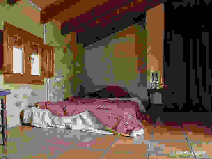 custom casa home staging Mediterranean style bedroom