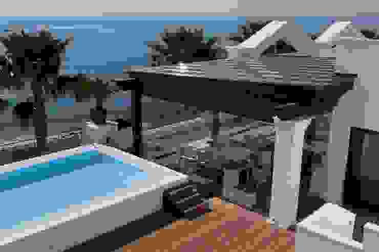 Casas de estilo  por COBERTI , Mediterráneo Vidrio