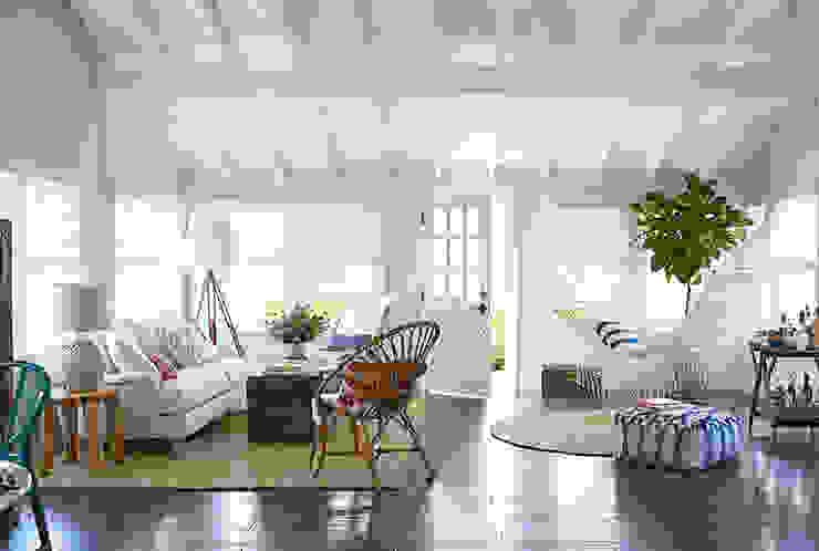 Living room by Evinin Ustası, Mediterranean