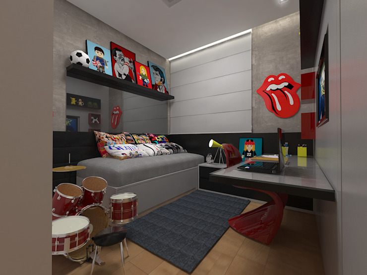 Modern Kid's Room by Impelizieri Arquitetura Modern
