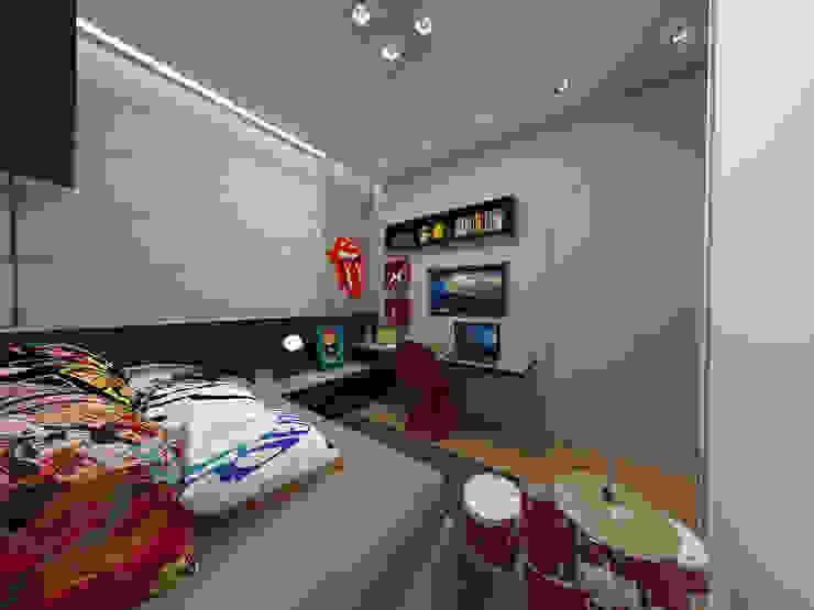 Детская комната в стиле модерн от Impelizieri Arquitetura Модерн