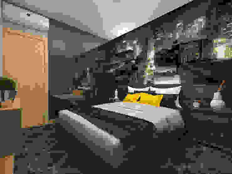Moderne Schlafzimmer von Impelizieri Arquitetura Modern