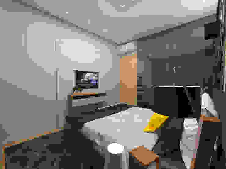 Спальня в стиле модерн от Impelizieri Arquitetura Модерн