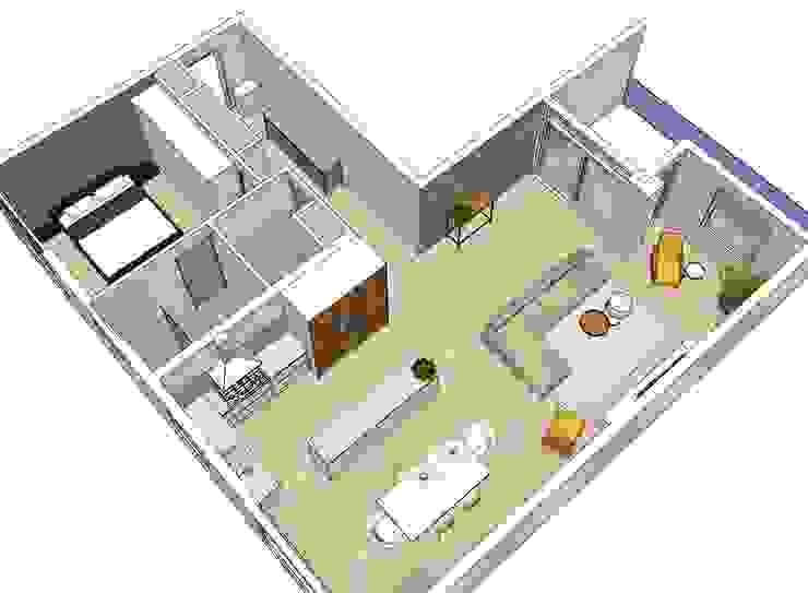 Compleet interieurontwerp met begeleiding en styling: modern  door JO&CO interieur, Modern