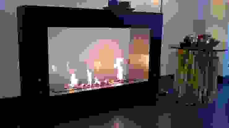 Clearfire - Lareiras Etanol SoggiornoCamini & Accessori Ferro / Acciaio Nero