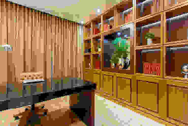 Modern study/office by Designer de Interiores e Paisagista Iara Kílaris Modern Wood Wood effect