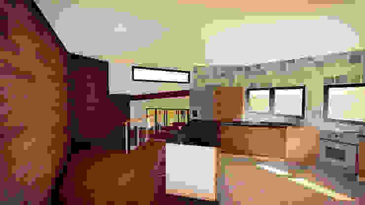 Cocina Cocinas de estilo moderno de GerSS Arquitectos Moderno
