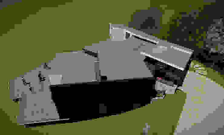 Vista de la Cubierta Casas estilo moderno: ideas, arquitectura e imágenes de GerSS Arquitectos Moderno