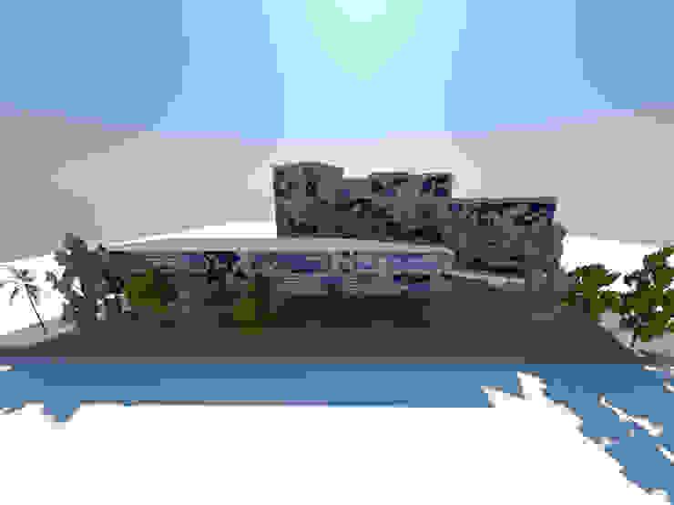 1 Edificios de oficinas de estilo minimalista de ARQUITECTURA VANGUARDIA Minimalista