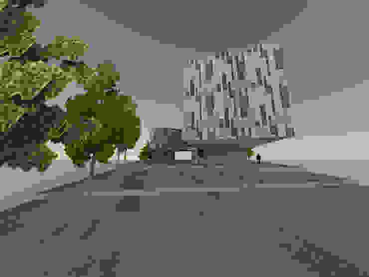 2 Edificios de oficinas de estilo minimalista de ARQUITECTURA VANGUARDIA Minimalista