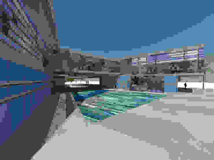 Hoteles de estilo minimalista de ARQUITECTURA VANGUARDIA Minimalista