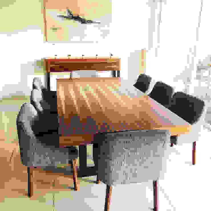 modern  by Diseñeria 72ocho10, Modern Wood Wood effect