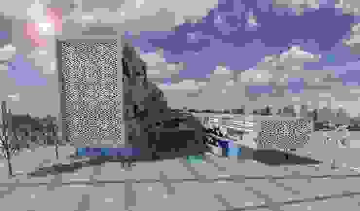 Edificios de oficinas de estilo minimalista de ARQUITECTURA VANGUARDIA Minimalista