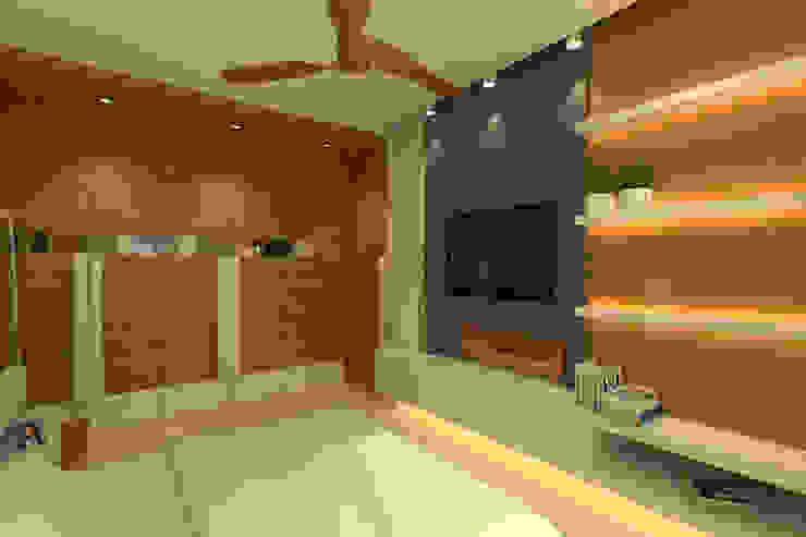 Modern Residence Modern style bedroom by Mah-Dee group Modern
