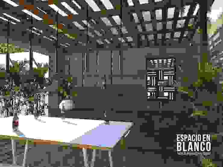 Bar ecológico Balcones y terrazas industriales de Espacio en Blanco Industrial