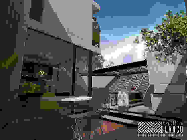 Espacio en Blanco Industrial style houses