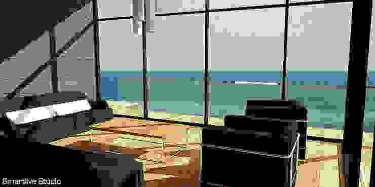 Living con vista al océano Livings de estilo moderno de homify Moderno