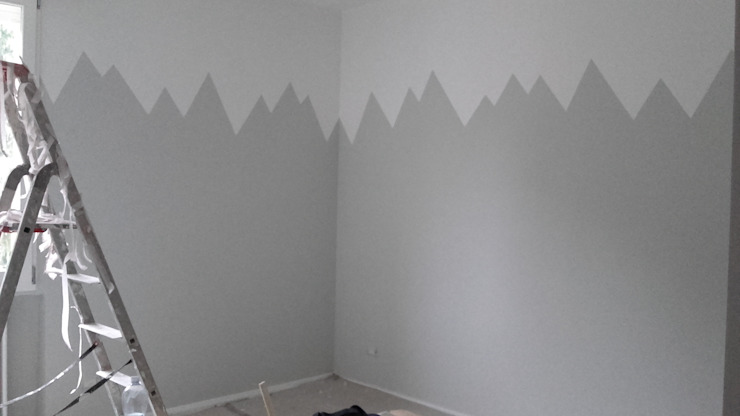Montagne stilizzate di LAB - officina d'arte & restauro