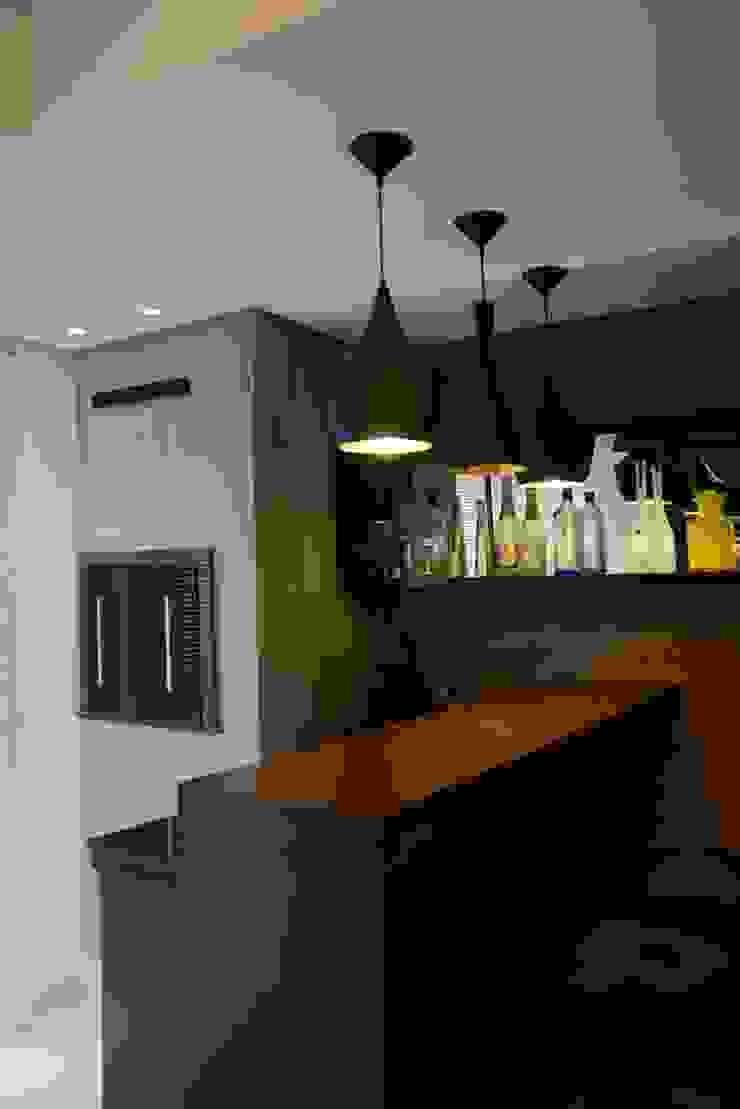 Área social Residência Danielle Barbosa DECOR DESIGN Cozinhas modernas