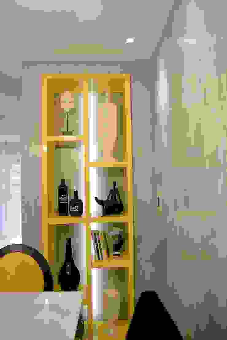 Área social Residência Danielle Barbosa DECOR DESIGN Salas de jantar modernas